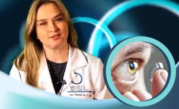 Como colocar lentes de contato esclerais, com Dra. Cristina Cury