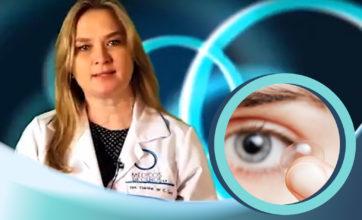 LENTES DE CONTATO GELATINOSAS | Dra. Cristina Cury ensina como colocar