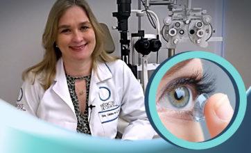 Lentes de contato para presbiopia,  com Dra. Cristina Cury