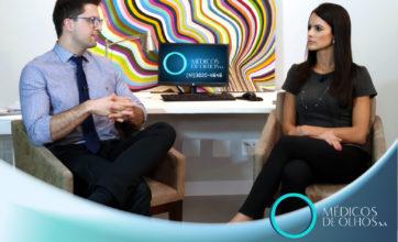 CBO pública experiência sobre o Transplante de Córnea a Laser dos médicos Dr. Felipe Branco e Dra. Maiara Radigonda