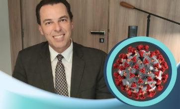 Dr. Otávio Siqueira explica se o coronavírus pode ser contraído pelos olhos. Fique atento!