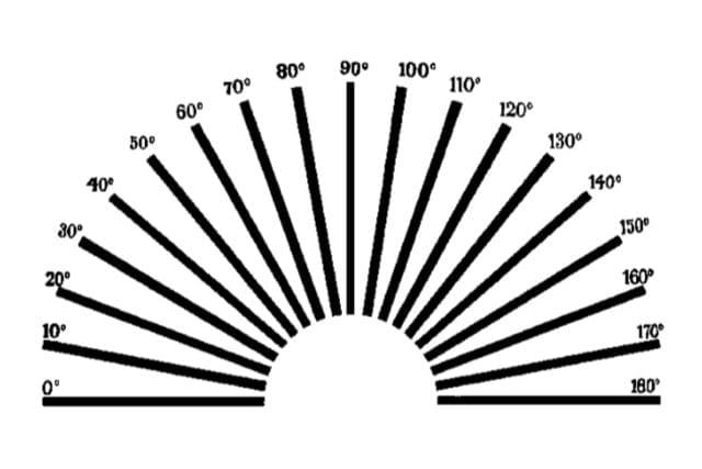 figura 1: teste para astigmatismo